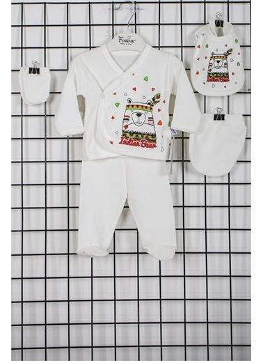 Furkan Toys Fındık Baby Indian Bear Önlüklü 3'Lü Hastane Çıkışı Seti 31162 Gri